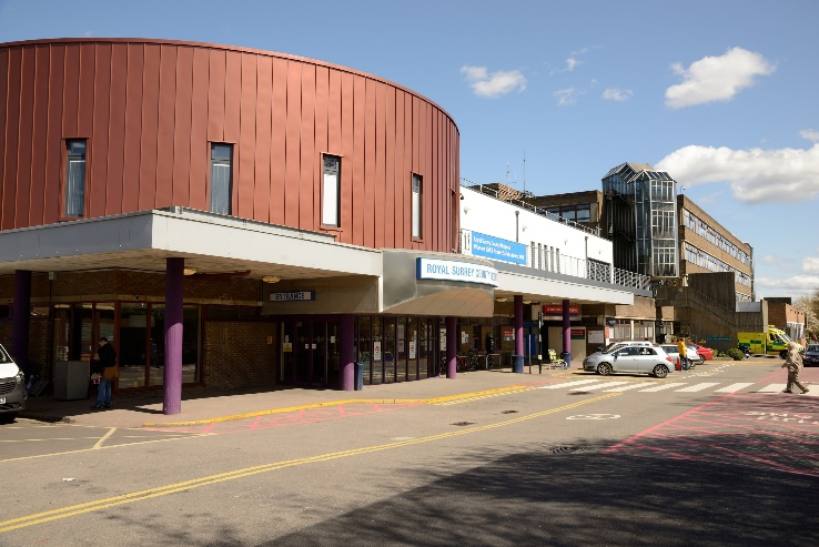 The Royal Surrey County Hospital is home to the St Luke's Cancer Centre