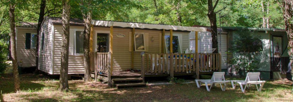 Camping Mobil home Ardèche - CAMPING LA GRAND'TERRE
